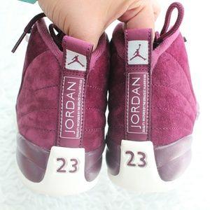 26cf71ad89d08d Jordan Shoes - Jordan 12 Bordeaux GS 5.5   Women s 7